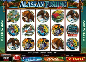 alaskan fishing free spin