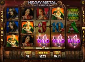 Heavy Metal Warriors wild