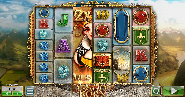 азартный автомат Dragon Born