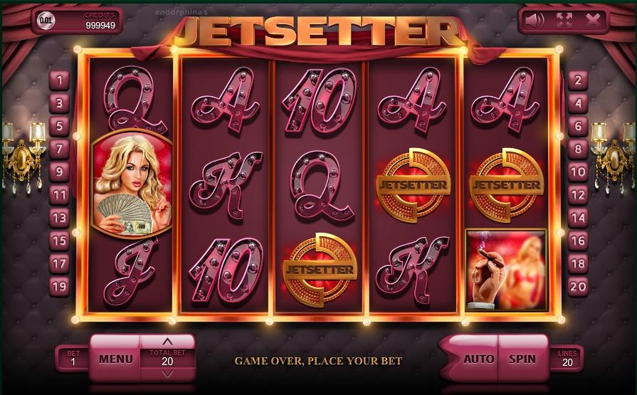 игровой автомат Jetsetter