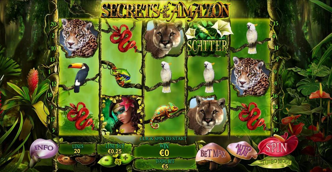 игровой автомат Secrets of the Amaz