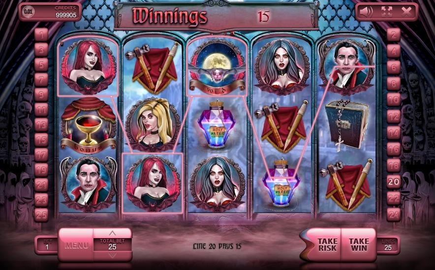 игровой автомат The Vampires