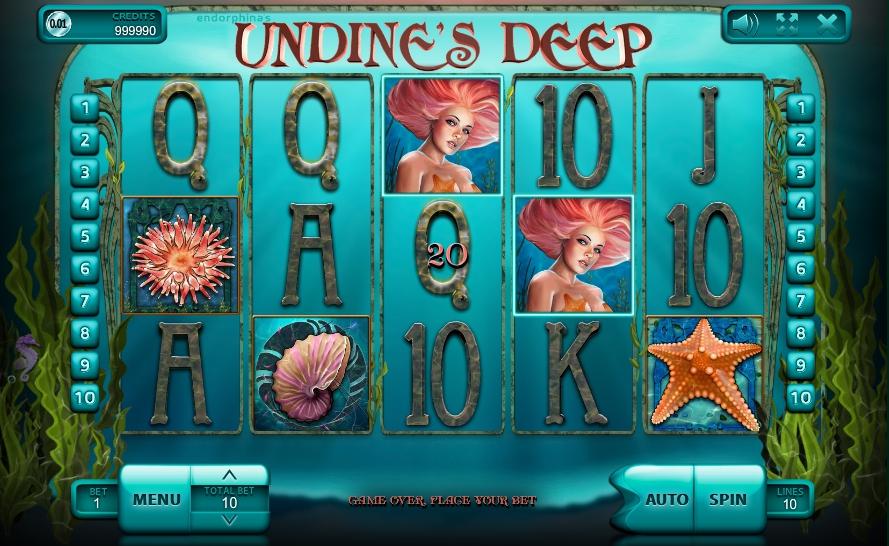 игровой автомат Undines Deep