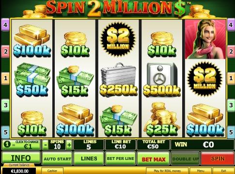 Spin 2 Million